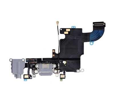 Шлейф с разъемом Lightning и mini-Jack для iPhone 6S, (Space Gray) фото 1