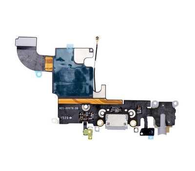 Шлейф с разъемом Lightning и mini-Jack для iPhone 6S, (Space Gray) фото 2