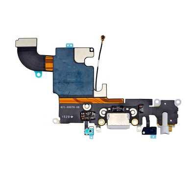 Шлейф с разъемом Lightning и mini-Jack для iPhone 6S, (Silver) фото 2