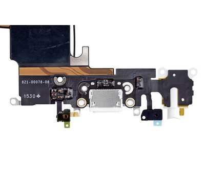 Шлейф с разъемом Lightning и mini-Jack для iPhone 6S, (Space Gray) фото 4