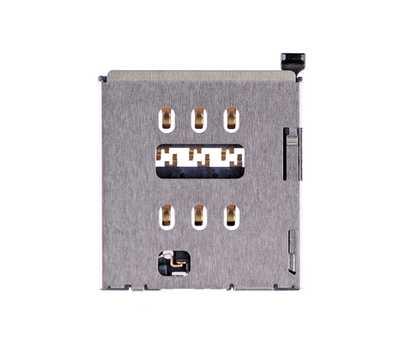 Коннектор SIM-карты для iPhone 6S фото 1