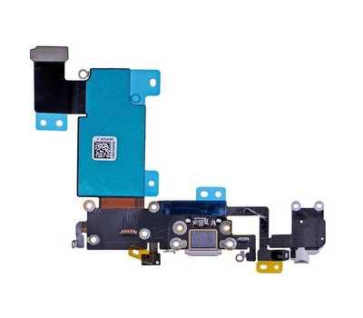 Шлейф с разъемом Lightning и mini-Jack для iPhone 6S Plus, (Silver) фото 2