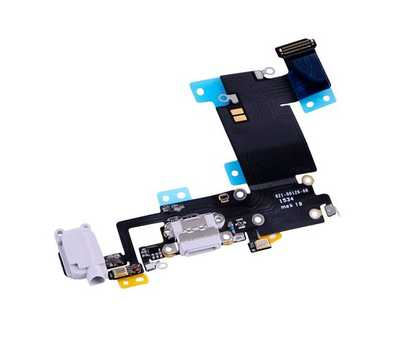 Шлейф с разъемом Lightning и mini-Jack для iPhone 6S Plus, (Silver) фото 3