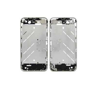 Средняя часть корпуса iPhone 4, цвет Серебристый фото 1