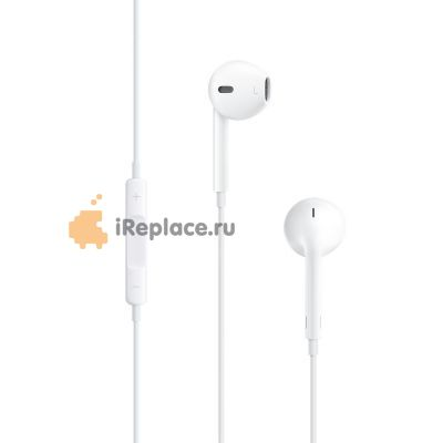 Наушники Apple EarPods с пультом дистанционного управления и микрофоном MD827